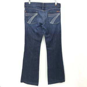 7 FOR ALL MANKIND DOJO Jeans Women's 29 Stretch